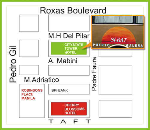 map of sikat bus terminal